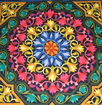 Ameera-Al-Farouk-Lotus-Design-Khayamiya-Tentmakers