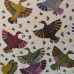 Bird Flying Pattern Work Khayamiya Tentmakers