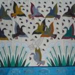 Birds Butterflys Wall Hanging Shop Khayamiya Tentmakers