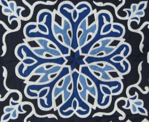 Blue Pattern Work Khayamiya Tentmakers