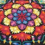 Bright Colourful Pattern Work Khayamiya Tentmakers