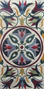 Floral Pattern Work Khayamiya Tentmakers