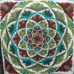 Flower Colourful Pattern Work Khayamiya Tentmakers