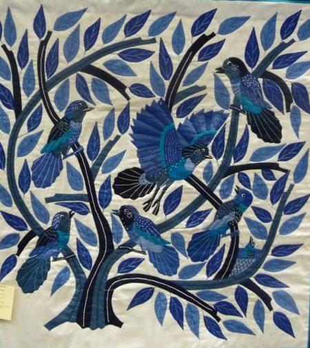 Gamal-Kholtona-Small-Blue-Birds-Khayamiya-Tentmakers