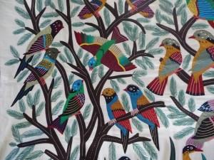 Parrot Pattern Work Khayamiya Tentmakers