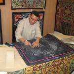 Tentmaker Drawing New Pattern - Khayamiya Tentmakers