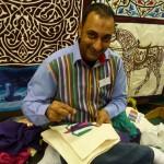 Tentmaker Sewing New Work Khayamiya Tentmakers